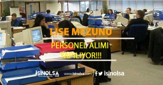 HSYK Lise Mezunu Sözleşmeli Büro Elemanı Alıyor