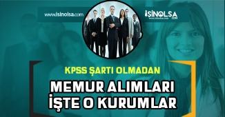KPSS'ye Girmeden Memur Olmanın Yolları!