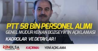 PTT 58 Bin Personel Alımı Yeni Açıklama! Alım Yapılacak Kadrolar!