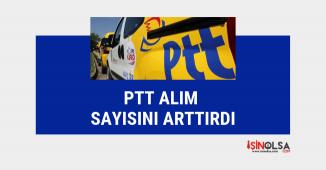 PTT personel alımı için radikal değişiklik: daha fazla kişi alınacak