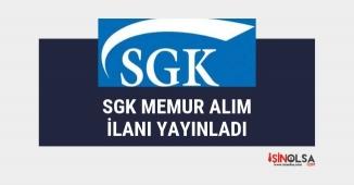 SGK 400 memur alım ilanı yayınladı