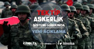 Tek tip askerlik sistemi hakkında AK Parti'den yeni açıklama