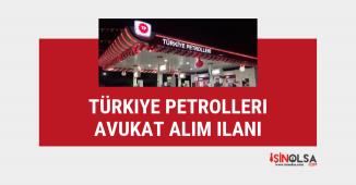Türkiye Petrolleri kamu grubu avukat alım ilanı