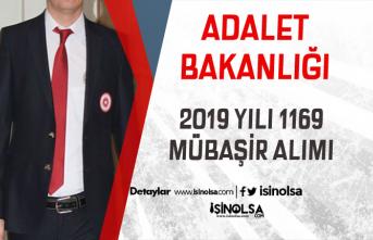 Adalet Bakanlığı Lise Mezunu 1169 Mübaşir Alımı Şartları 2019