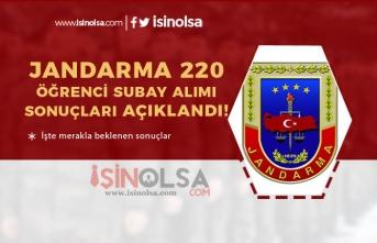 Jandarma  220 Erkek Öğrenci Subay Alımı Sonuçları Açıklandı!