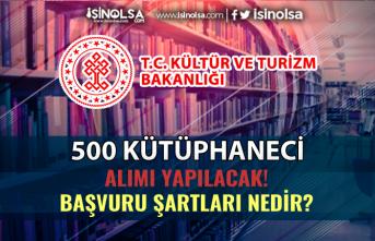 Kültür Bakanlığı 500 Kütüphaneci Alımı Başvuru Şartları Nedir?