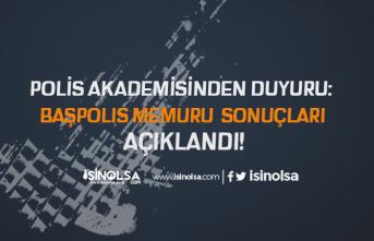 Polis Akademisi Kıdemli ve Başpolis Memuru Amirlik Eğitimi Sonuçlarını Açıkladı!