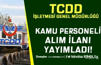 TCDD İlkokul Mezunu Engelli Kamu Personeli Alım İlanı Yayımladı!