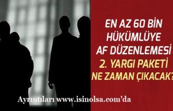 60 Bin Hükümlü Tutukluya Af Düzenlemesi Yargı Paketi Ne Zaman Çıkacak?