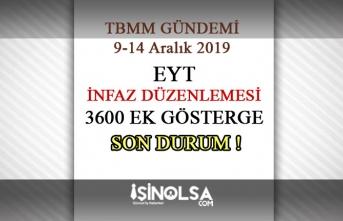9-14 Aralık TBMM Gündemi || EYT, İnfaz Yasası 3600 Ek Göstergede Son Durum!