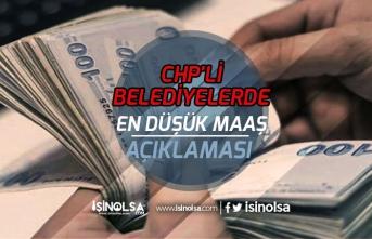 CHP'li Belediyelerde Çalışanların 2020 Asgari Ücret Tutarı Açıklandı!