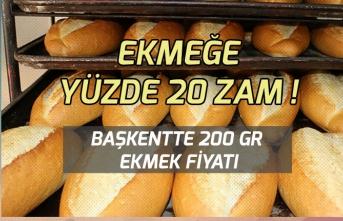 Ekmek Fiyatına Zam Geldi! Ankara Ekmek Fiyatları Ne Oldu?