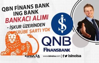 Finans Bank 5 Bin Tl Maaş ile Tecrübesiz Bankacı Personel Alımı Yapacak!