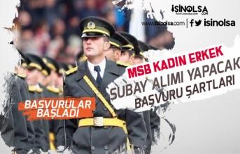 MSB Türk Silahlı Kuvvetlerine Muvazzaf Subay Alımı İlanı Açıkladı!