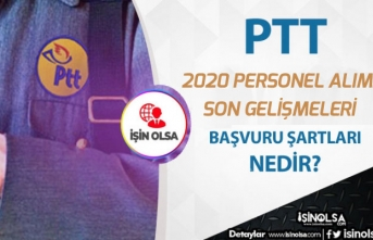 Yönetmeliği Değişmişti. PTT 2020 Personel Alımı İçin Son Gelişmeler!