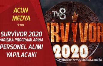 Acun Medya, TV8 ve Survivor 2020 İçin personel Alımı Yapacak!