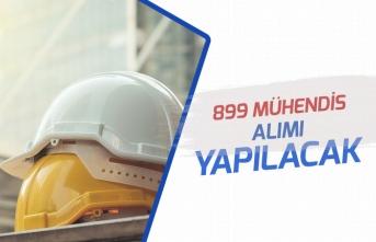 İŞKUR'dan Kamu ve Özelde 899 Mühendis Personeli Alımı Olacak!