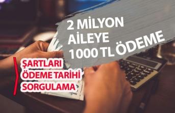 AÇSHB 2 Milyon Aileye 1000-Tl Destek! Ödeme Tarihi! Başvuru ve Sorgulama!