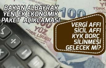 Ek Ekonomik Paketi Açıklaması! Vergi ve Sicil Affı, KYK Borç Silinmesi Gelirmi?