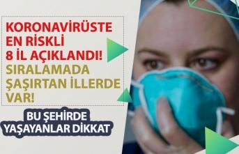 Koronavirüste En Riskli 8 İl Açıklandı! Şaşırtan İllerde Var!