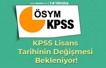 KPSS Lisans Tarihinin Değişmesi Bekleniyor!