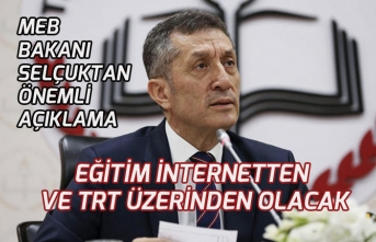 MEB Bakan Selçuk Önemli Açıklamalar! Uzaktan Eğitimin TRT ve İnternetten!