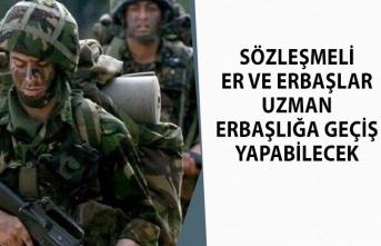 MSB Akar, Sözleşmeli Er ve Erbaşların Uzman Erbaşlığa Geçebileceğini Açıkladı!