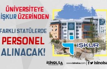 Necmettin Erbakan Üniversitesi Lise Mezunu 25 Personel Alımı Başlıyor!