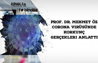 Prof. Dr. Mehmet Öz Corona Virüsünde Korkunç Gerçekleri Anlattı!