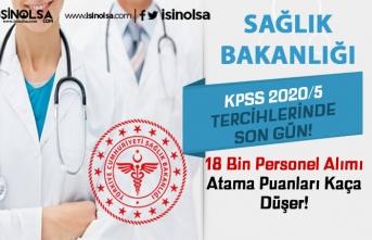 Sağlık Bakanlığı 18 Bin Personel Alımında Son Gün! Atama Puanları Kaça Düşer?