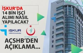 Sağlık Bakanlığı, İŞKUR 14 Bin İşçi Alımı Başvuru Nasıl Yapılacak? Bakan Açıkladı!