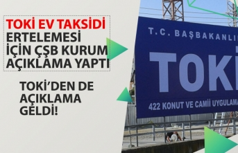 TOKİ'den Ev Alanlar Dikkat! TOKİ Taksit Ödemesi Ertelemesi Açıklaması