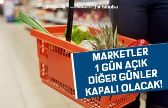 1 Mayıs 2020'de Marketlerin Çalışma Saatleri Açıklandı!
