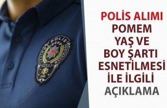 Polis Alımı Boy ve Yaş Şartı Esnetilmesi ile İlgili Bakan Soylu'dan Açıklama!