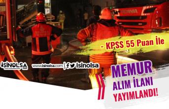 Taşpınar Belediyesi Kadın Erkek KPSS 55 Puan İle İtfaiye Eri Alınacak