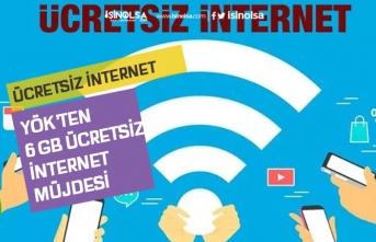 YÖK 6 GB Ücretsiz İnternet Verecek! Hediye İnternet Nasıl Başvuru Yapılacak?
