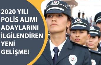 2020 Polis Alımı Başvuru Yapacaklar, Baraj Puan Düşürüldü, Sınav Süresi Uzadı!