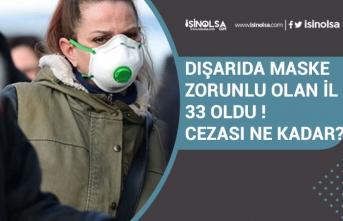 Maskesiz Sokağa Çıkma Cezası Ne Kadar! 33 İlde Maske Kullanma Zorunluluğu!