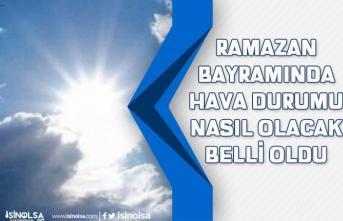 Meteoroloji Genel Müdürlüğü Ramazan Bayramında Hava Durumu Nasıl Olacak açıkladı!