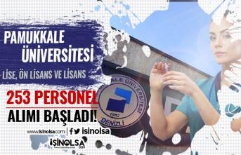 Pamukkale Üniversitesi 253 Sözleşmeli Personel Alımı Başvuruları Başladı! Şartlar ve Kadrolar?