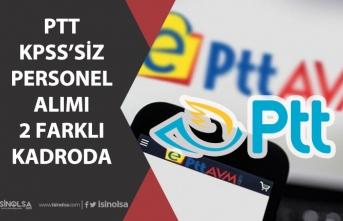 PTT Personel Alımı Yapacak! 2 Farklı Kadroda ve Online Başvuru ile!