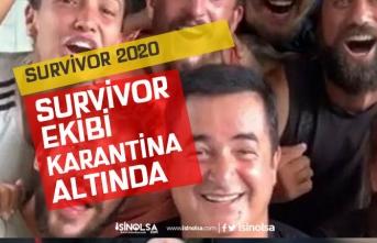 Survivor 2020 Yarışmacıları Ekibi Yurtta Karantinaya Alındı!