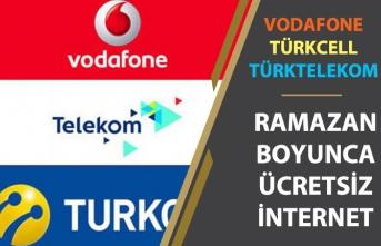 Türkcell, Vodafone, Türktelekom Ramazan Kampanyası Ücretsiz İnternet Başvurusu Nasıl Yapılacak?