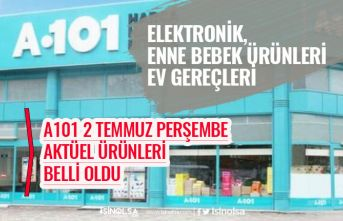 A101 Aktüel Ürün Kataloğu, 2 Temmuz Perşembe İndirimli Ürünleri Açıklandı! Dev İndirim!