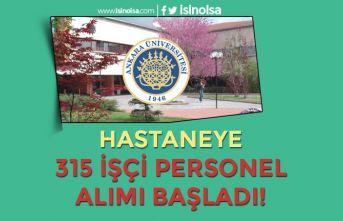 Ankara Üniversitesi Hastanesi 315 İşçi Personel Alımı Başvurusu Başladı
