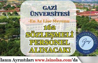 Gazi Üniversitesi 162 Sözleşmeli Sağlık Personeli Alımı Yapacak! Başvurular Başladı
