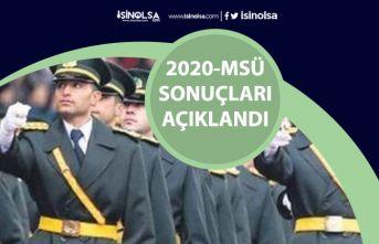 2020-MSÜ Sonuç Ekranı! ÖSYM Sonuçlar ve Sınav Cevap Kağıtları Erişime Açıldı!