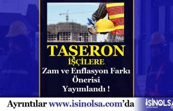 Taşeron İşçilerine Zam ve Enflasyon Farkı için Önerge Yayınlandı!