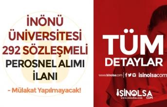 İnönü Üniversitesi 292 Personel Alımı: 255 Hemşire ve 37 Sağlık Teknikeri Alınacak