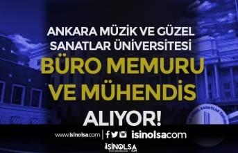 Ankara MGÜ Büro Memuru ve Mühendis Alımı Yapıyor